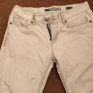 BKE white pants